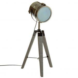 Lampe trépied H.68 cm